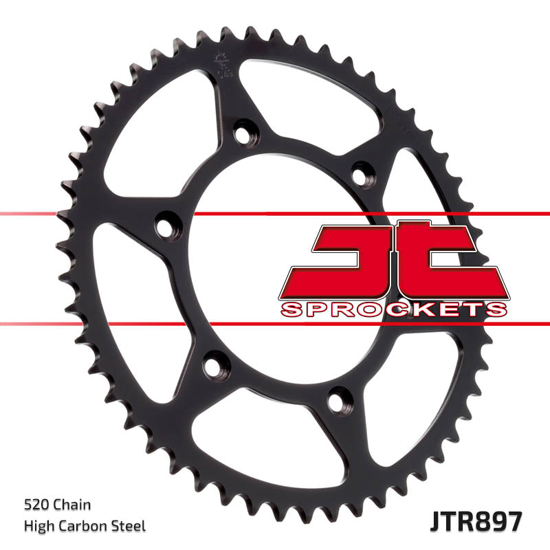 Rear Motorcycle Sprocket for Husaberg_FC350 6 Speed_00-01, Husaberg_FC400 6 Speed_00-01, Husaberg_FC450_04-06, Husaberg_FC501 6 Speed_00-01, Husaberg_FC550_05-08, Husaberg_FC600 6 Speed_00-01, Husaberg_FE350_00-01, Husaberg_FE400 e_00-03, Husaberg_FE450 e_04-08, Husaberg_FE501_00-01, Husaberg_FE550 e_04-08, Husaberg_FE600_00-01, KTM_125 Enduro_91-94, KTM_125 EXC Enduro_95-97, KTM_125 LC2 Enduro_97-98, KTM_200 XC-W_06-12, KTM_200 XC_06-10, KTM_250 EXC Enduro_00-03, KTM_250 EXC Racing_02, KTM_250 SX Motocross