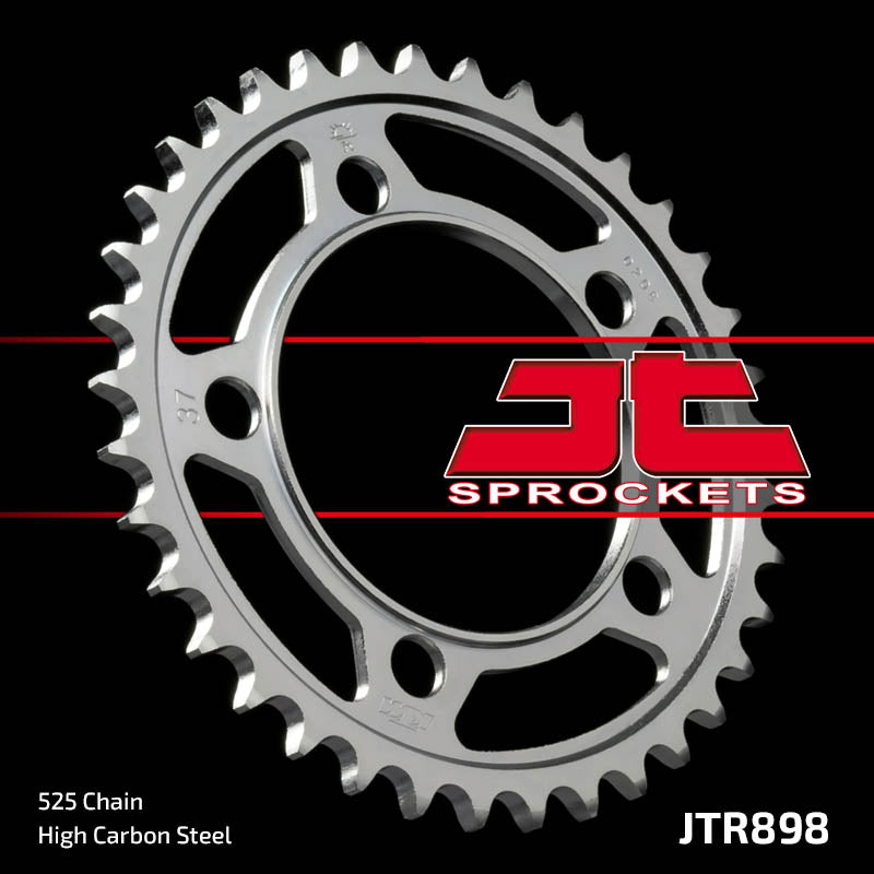 Rear Motorcycle Sprocket for KTM_1190 RC8 R Akro Ltd. Ed._10, KTM_1190 RC8 R Red Bull Ltd Ed._10, KTM_1190 RC8 R_10, KTM_1190 RC8_08-09