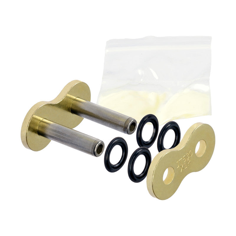 JT X-Ring Drive Chain 530 X1R Gold Rivet Hollow Connecting Joining Link