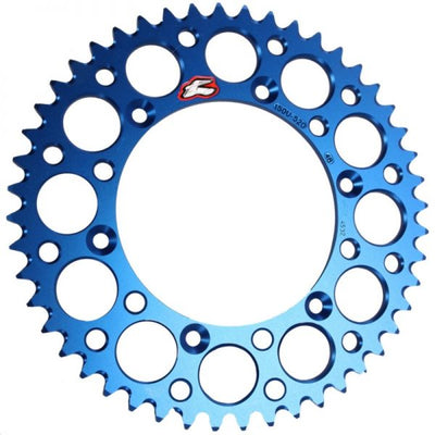 Renthal 121u-428-47 Blue Rear Chainwheel 47 Teeth (798.47)