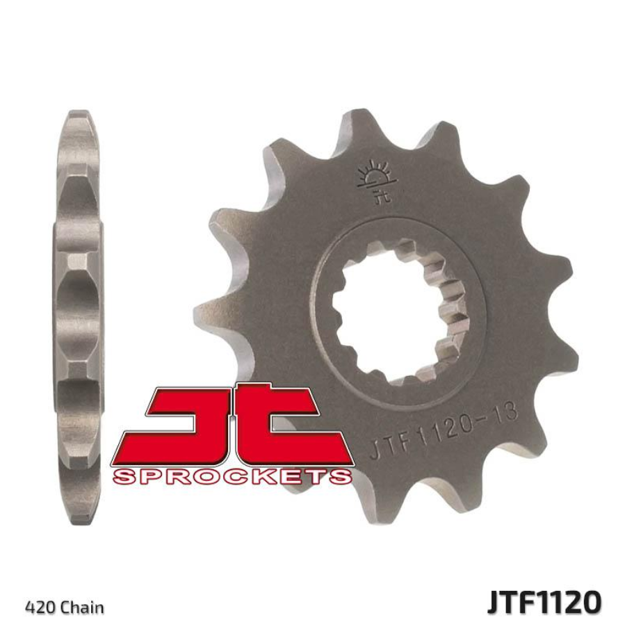 JTF1120 Front Drive Motorcycle Sprocket 14 Teeth (JTF 1120.14)