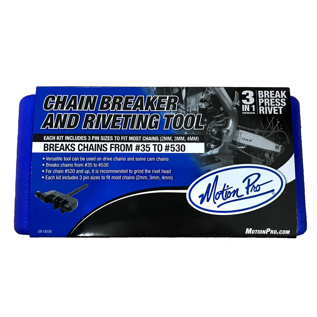 Motion Pro Chain Breaker & Riveting Tool #35 to #630