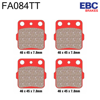 EBC Carbon Front Brake Pads FA084TT (Two Calipers)