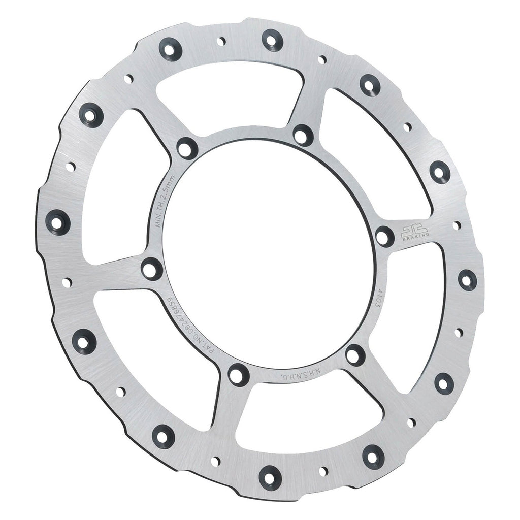 JTD1116SC01 JT Self Cleaning Front Brake Disc