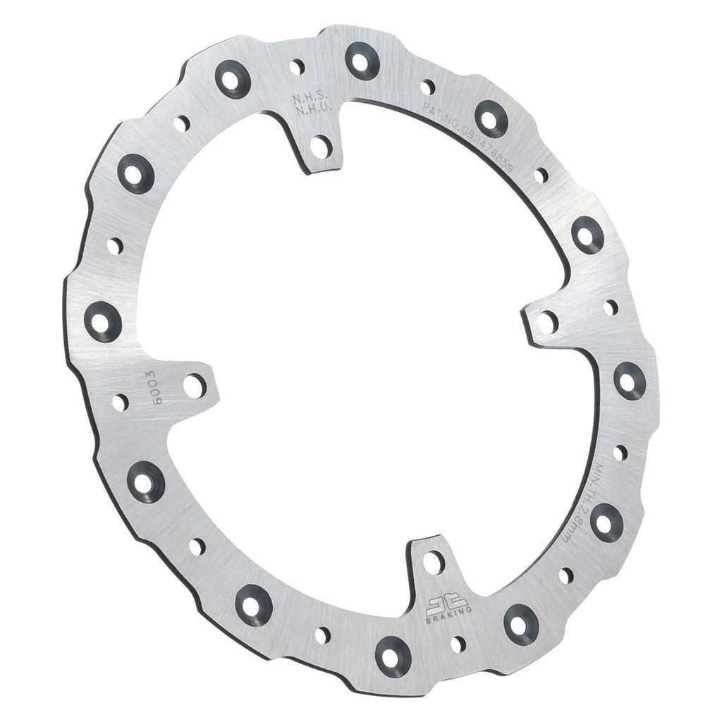 JTD2112SC01 JT Self Cleaning Rear Brake Disc