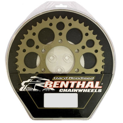 Renthal 184-520-43 Rear Chainwheel 43 Teeth (478.43)