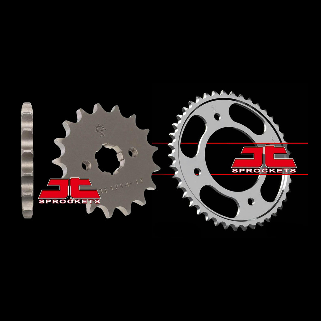 Honda CBF 125 2009-2013 Front & Rear JT Sprockets Bundle