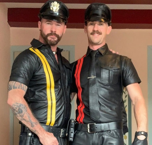 Folsom leather shirts Mr Riegillio