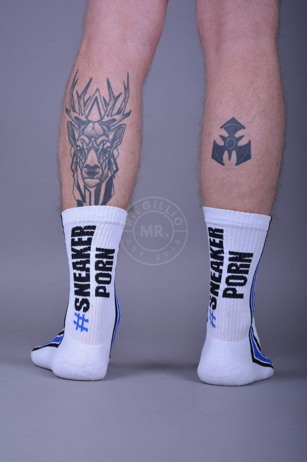 #SNEAKERPORN Socks white/royalblue