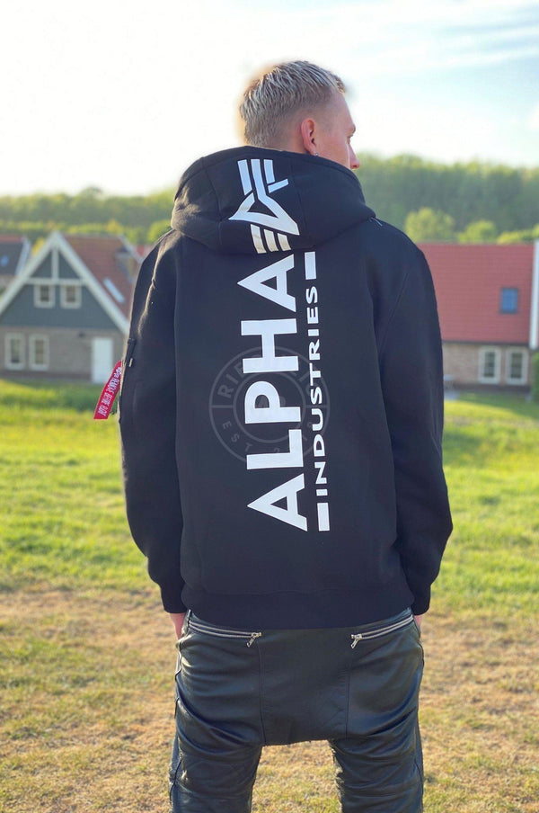 Alpha Industries Back Print Hoody Hoodie Alpha Industries