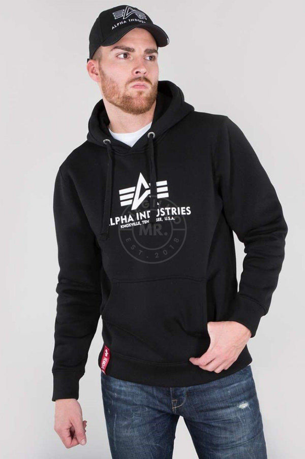 Alpha Industries Basic Hoody Black Hoodie Alpha Industries