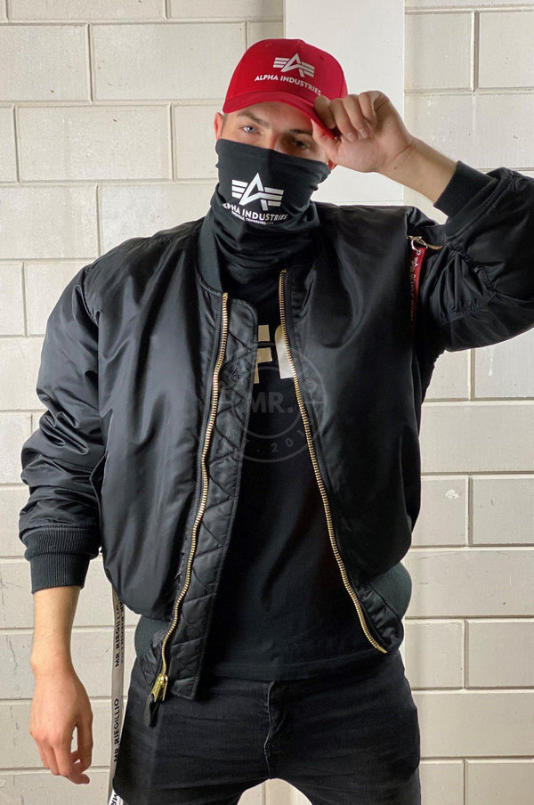 Alpha Industries Basic Logo Tube Mask Face mask Mr Riegillio
