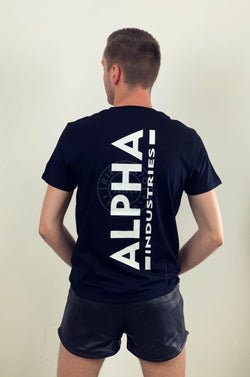 Alpha Industries Basic T-Shirt Backprint T T-Shirt Alpha Industries
