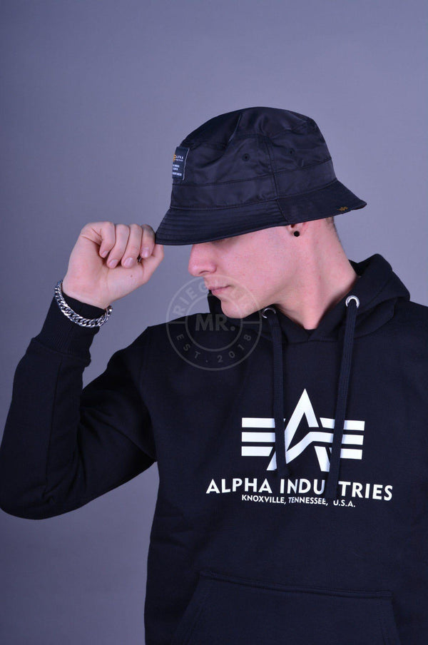 Alpha Industries Crew Bucket Hat Cap Mr Riegillio