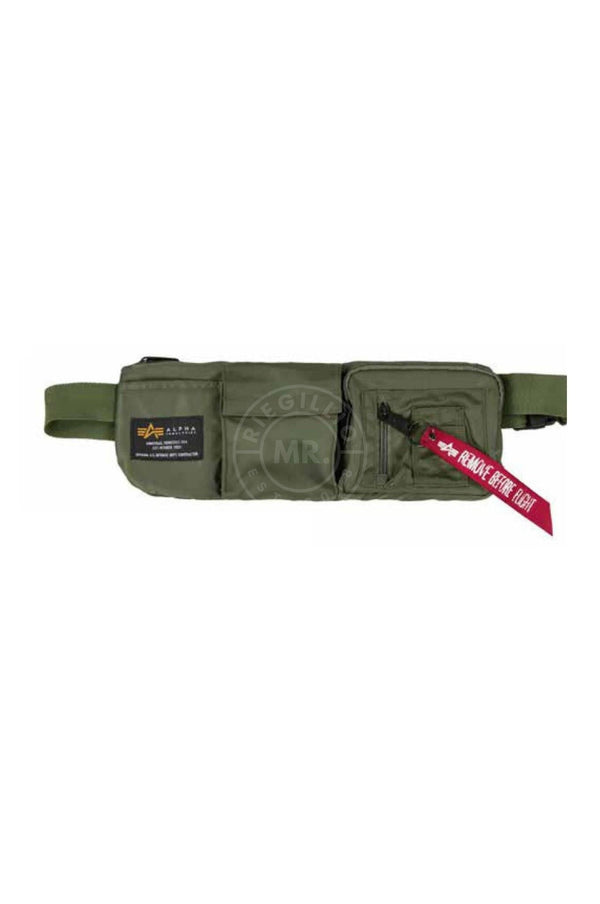 Alpha Industries Crew Utility Bag Sage Green Bag Mr Riegillio