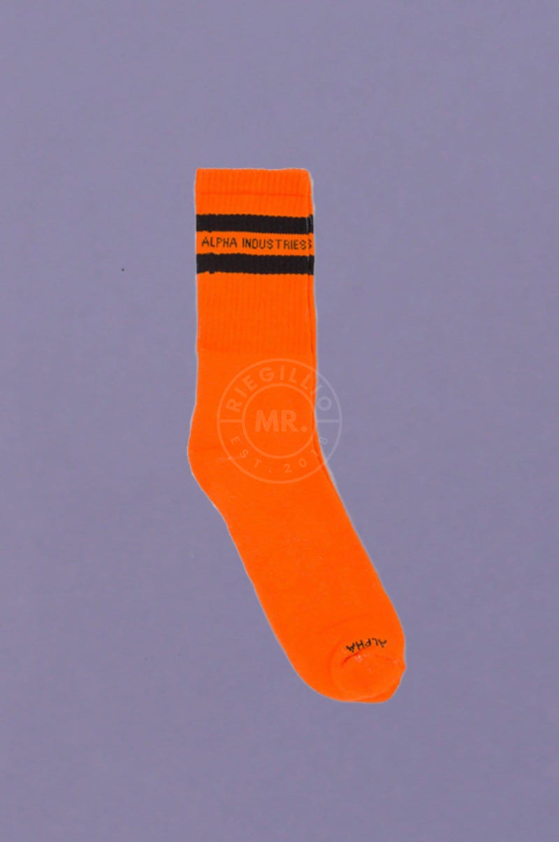 Alpha Industries Socks - Orange Socks Alpha Industries