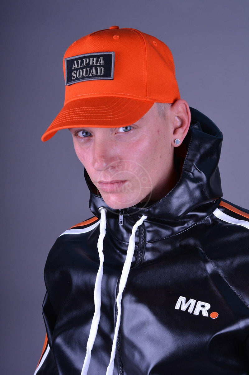 Alpha Industries VLC Patch Cap Orange Cap Mr Riegillio