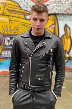 Leather Brando Jacket Jacket Mr Riegillio