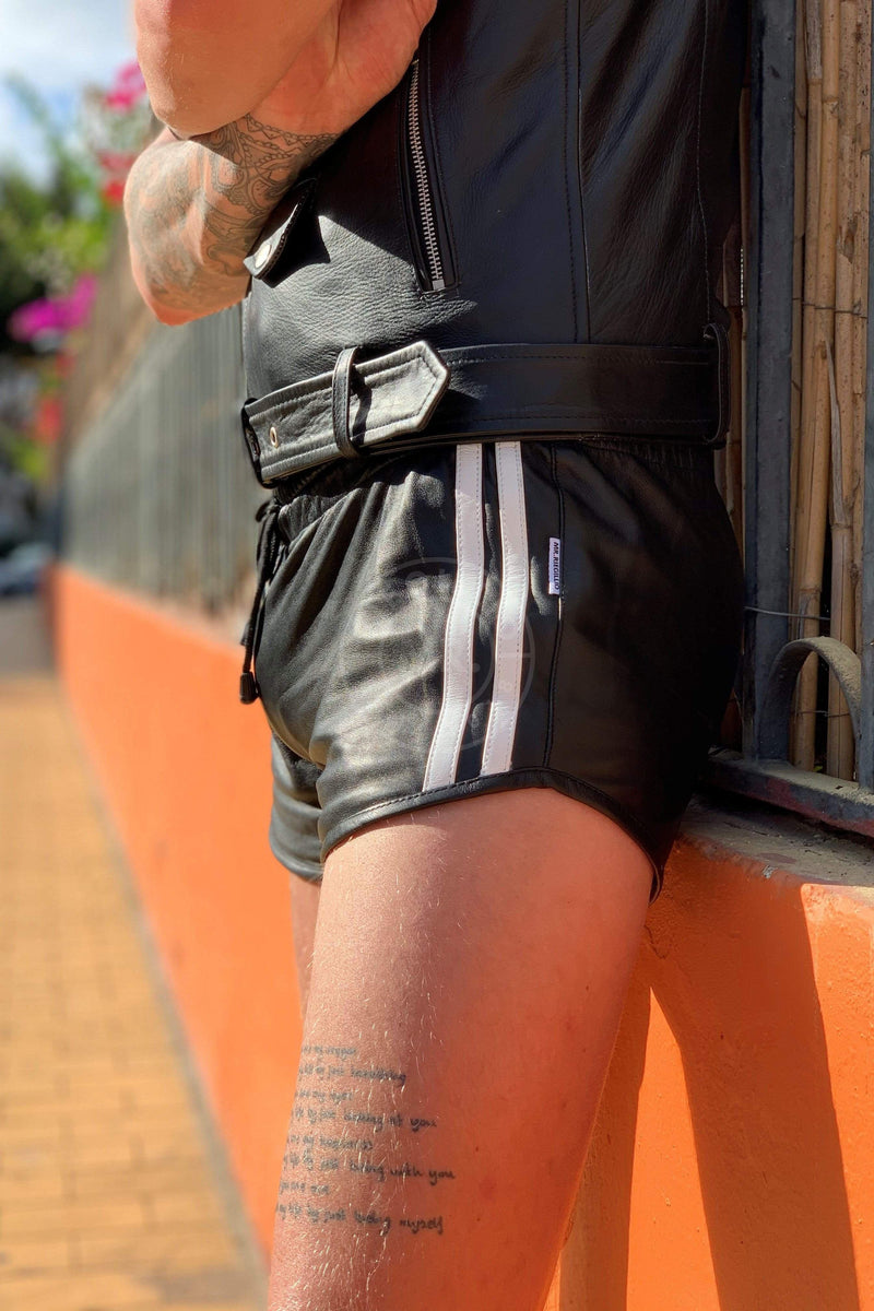 Leather Mini Short Shorts Mr Riegillio