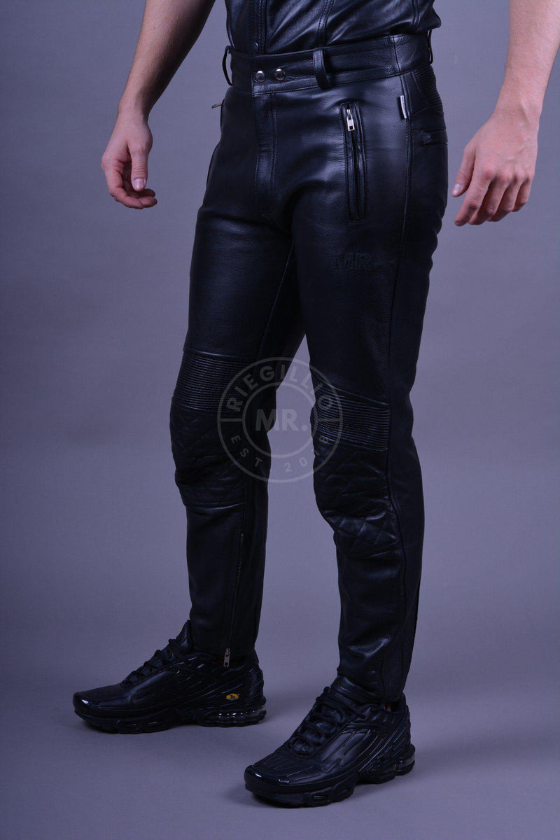 Leather Motorbike Pants Pants Mr Riegillio