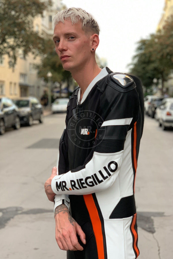 Leather Motorbike suit Motorsuit Mr Riegillio
