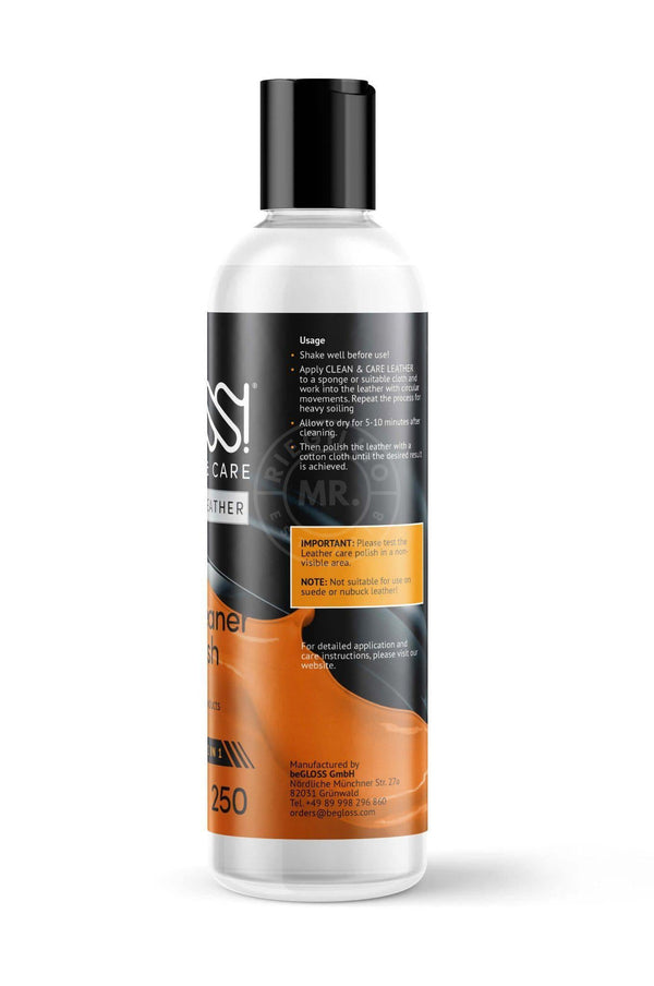 Leather Polish - Clean & Care Cleaner Mr Riegillio
