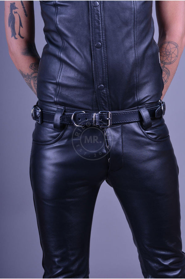 Mister B Leather Four Restraint Belt Belt Mister B