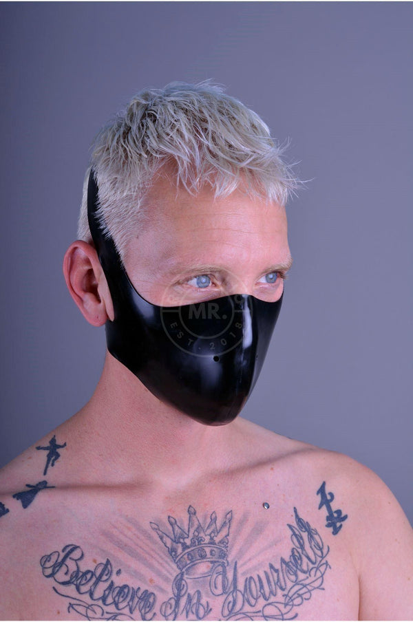 Mister B Rubber Bike Mask Blindfolds & Masks Mister B