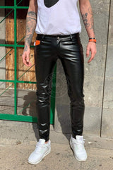 MR. 5-Pocket Pants Black Pants Mr Riegillio