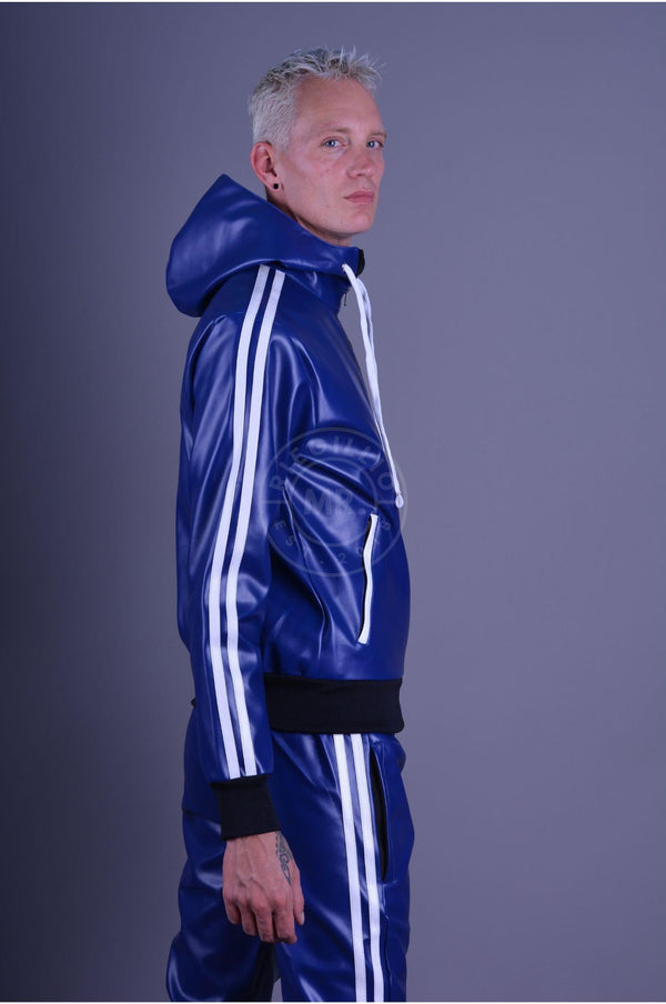 MR. Tracksuit jacket Blue Jacket Mr Riegillio
