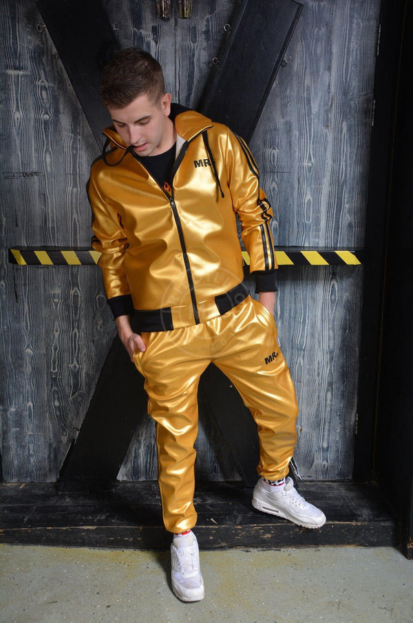 MR. Tracksuit Jacket Gold Jacket Mr Riegillio
