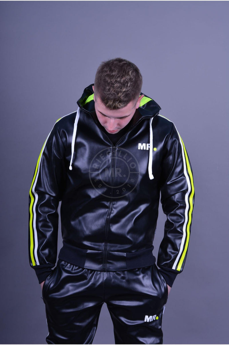 MR. Tracksuit Jacket Neon stripes Jacket Mr Riegillio