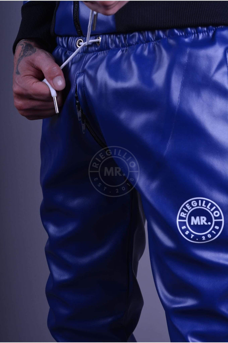 MR. Tracksuit pants Blue Jacket Mr Riegillio