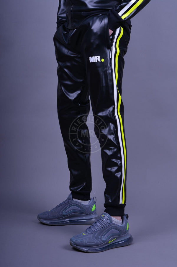 MR. Tracksuit Pants neon stripes Pants Mr Riegillio