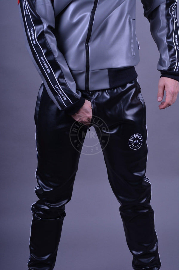 MR. TRICOLOR Tracksuit Pants with logo trim Pants Mr Riegillio