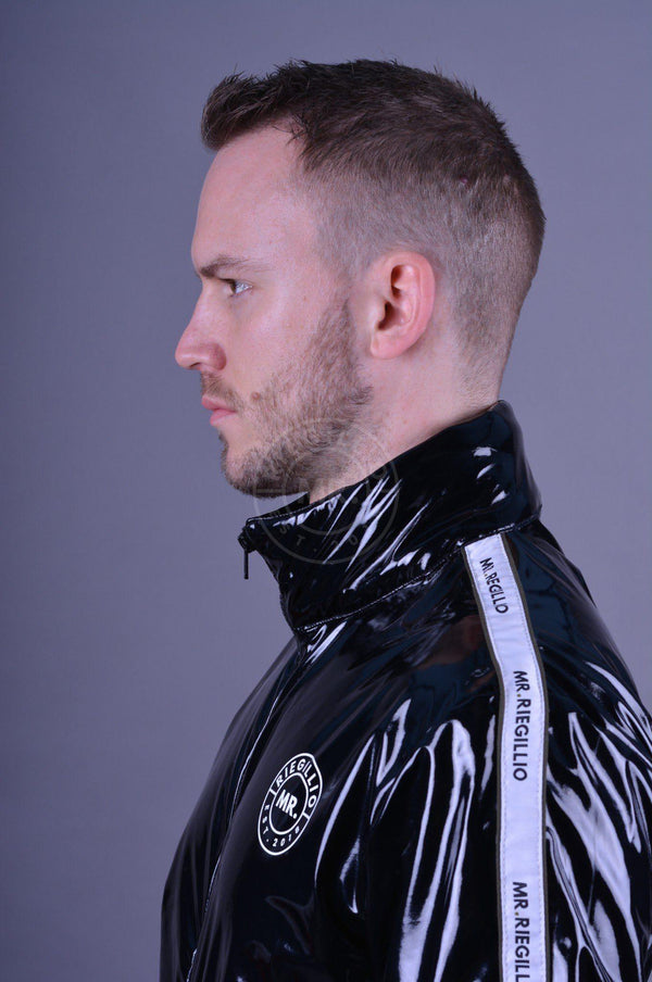 PVC Tracksuit Jacket LogoTaping Jacket Mr Riegillio