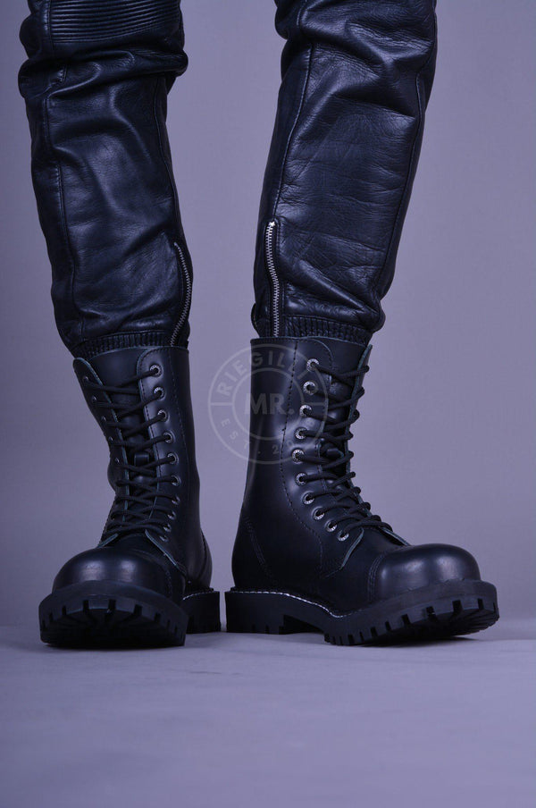 Steel Boots Skinhead Boots 10 hole Boots STEEL