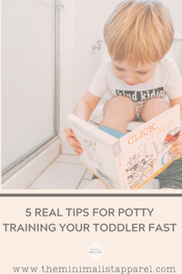 5 Real Tips For Potty Training A Toddler FAST!