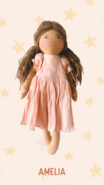 AMELIA - Handmade Heirloom Doll