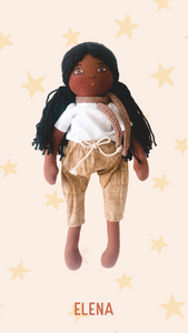 ELENA - Handmade Heirloom Doll