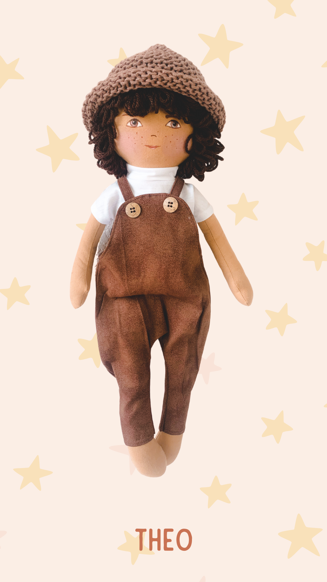 THEO - Handmade Heirloom Doll