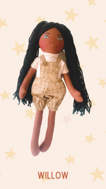 WILLOW- Handmade Heirloom Doll