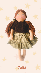 ZARA - Handmade Heirloom Doll