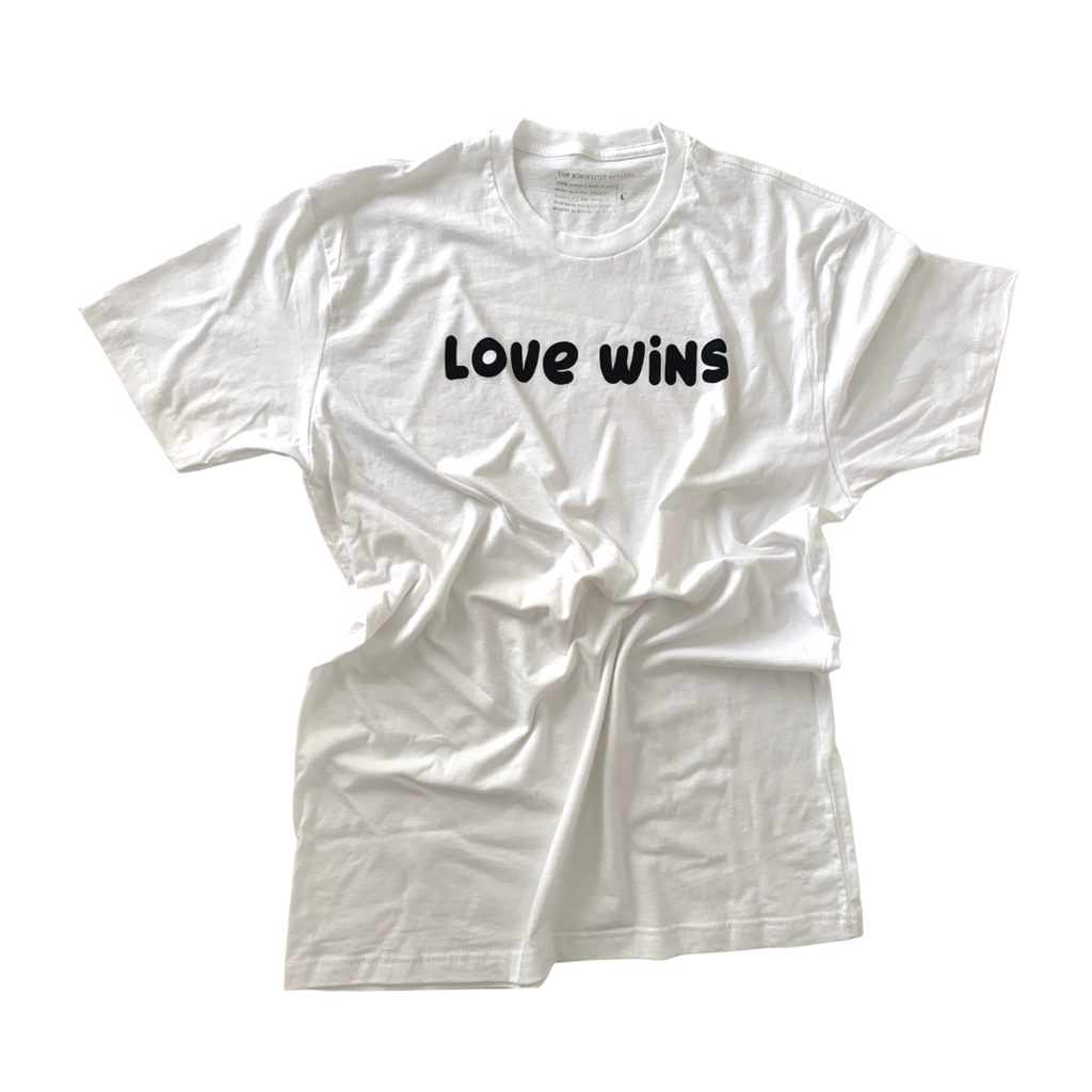 LOVE WINS  - Adult Unisex Crewneck Tee