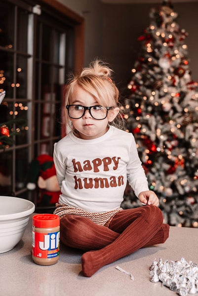 HAPPY HUMAN TODDLER TEE
