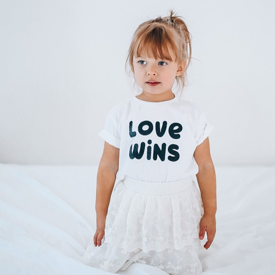 LOVE WINS - Valentines Day  Edition  - Infant Onesies, Toddler & Youth Tees