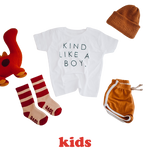 KIND LIKE A BOY - Onesie | Toddler & Youth  T-Shirt