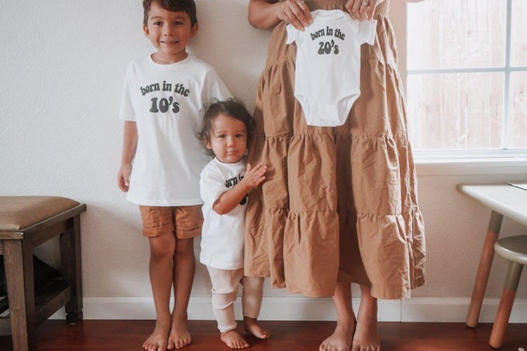 BORN IN THE 20'S Onesie  & Toddler Tee