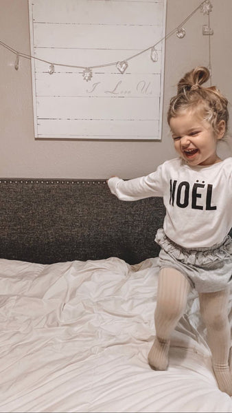 NOEL - Long Sleeve Infant & Toddler Tee