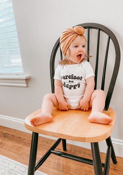 BAREFOOT & HAPPY - Onesie & Toddler Tee
